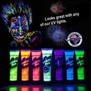 UV LIGHT PAINT HIRE PERTH