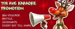 Xmas Saturday Karaoke Perth