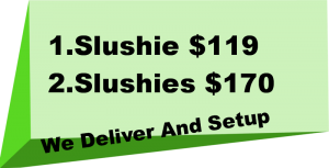 Perth slushie machine hire