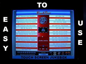 Touch Screen Jukebox Machine Hire Perth