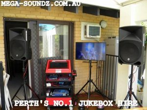touch screen karaoke hire Perth