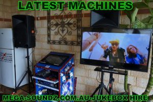 karaoke jukebox party hire Perth wa