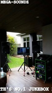 Touch Screen Karaoke Jukebox Hire Perth.