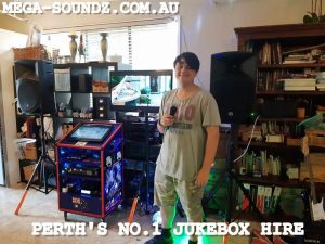 karaoke machine hire perth
