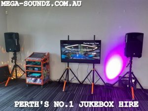 karaoke machine jukebox hire Perth