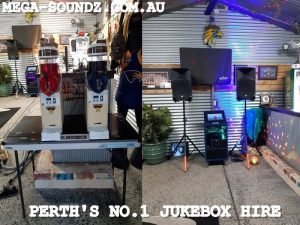 Karaoke jukebox machine hire perth wa