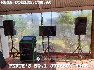 karaoke jukebox machine hire perth wa Morley