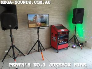 Karaoke jukebox machine hire perth wa City Beach