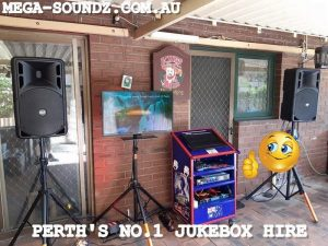 1ST OF TODAYS KARAOKE JUKEBOX SETUPS AROUND PERTH