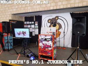 Touch Screen Jukebox Hire Perth wa