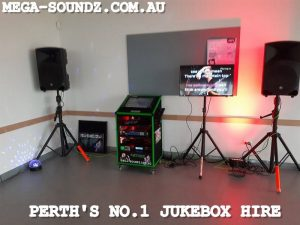 Karaoke Touch Screen Jukebox Hire Perth