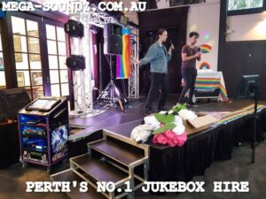 karaoke jukebox singing UWA Perth
