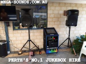 Touch Screen Jukebox Hire Perth