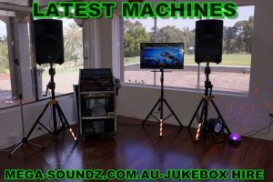 Party karaoke jukebox hire perth