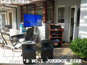 Touch screen karaoke party jukebox hire Perth
