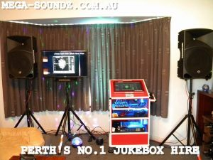 touch screen karaoke hire Mega-Soundz Perth