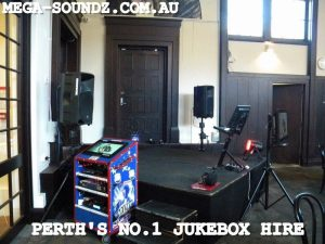 UWA Karaoke jukebox hire Perth-Mega-Soundz