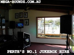 Touch Screen Karaoke Jukebox Hire Perth wa-Mega-Soundz Party Hire Perth