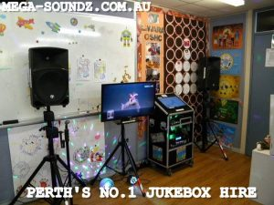 Kids karaoke jukebox hire Greenwood