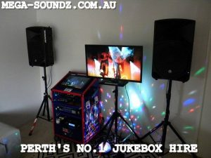 Karaoke jukebox hire Perth wa-Mega-Soundz