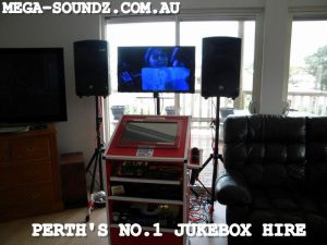 Joondalup touch screen karaoke jukebox hire