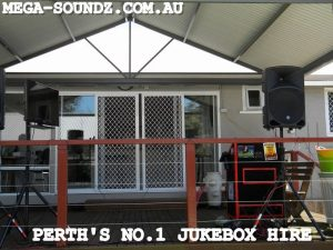touch screen karaoke jukebox hire Perth wa