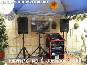 Touch Screen And Karaoke Party Jukebox Hire Perth