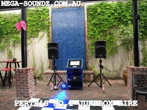 Best Touch screen karaoke jukebox hire perth