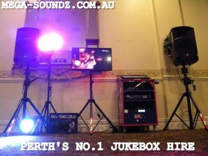 touch screen karaoke jukebox hire perth wa
