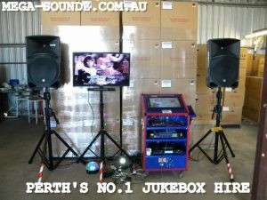 Karaoke jukebox rental for Works Xmas Party In Perth Today