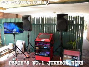 touch karaoke and music video jukebox hire Perth