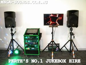 touch screen karaoke machine hire Perth