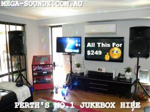 PERTH'S BEST KARAOKE HIRE MACHINE-MEGA-SOUNDZ