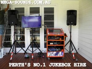 Perth's Best karaoke jukebox machine rental