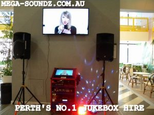 Twin Slushie and 3 Touch Screen Karaoke Jukebox Machines setup around Perth today!! https://www.mega-soundz.com.au/