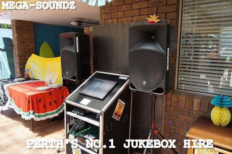 Karaoke Touch Screen Jukebox Hire Perth No Laptops
