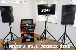 Perth's best karaoke touch screen jukebox hire