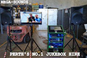 Karaoke Touch Screen Jukebox Hire Perth