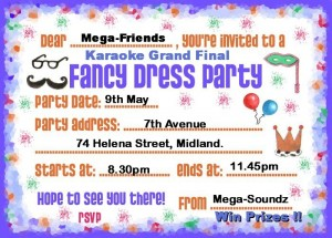 Fancy dress invite 2
