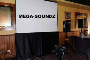 Screen and projector hire Perth