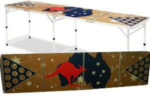 Australia Day Beer Pong Table Hire Perth.