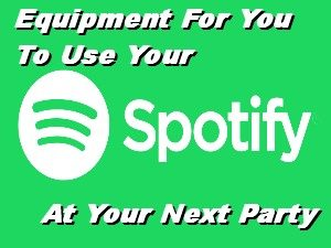 Spotify Equipment Hire Perth