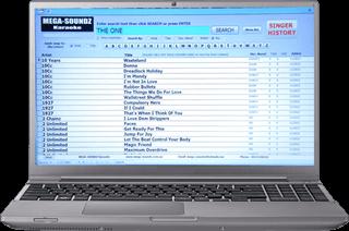Laptop karaoke songbook Perth