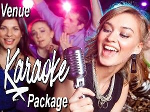 Venue karaoke jukebox hire package perth