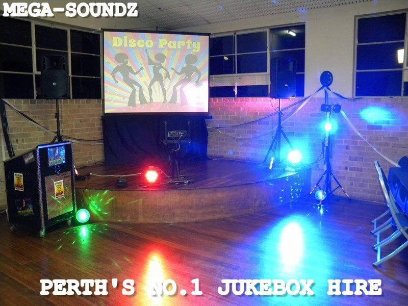 "Karaoke and music dj with 80"" screen Hire Perth"