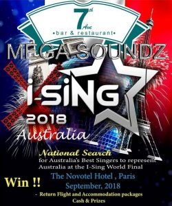 i-Sing World karaoke competition Perth