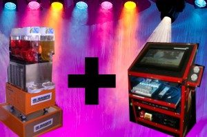 slushie and jukebox hire perth