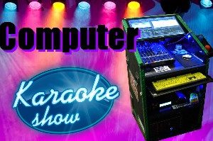 Computer karaoke machine jukebox hire Perth