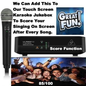 karaoke machine hire with score function Perth