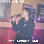 Karaoke Jukebox Singing Perth Saturdays 7th Ave Bar.